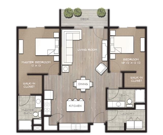 Villa Layout Floor Plan
