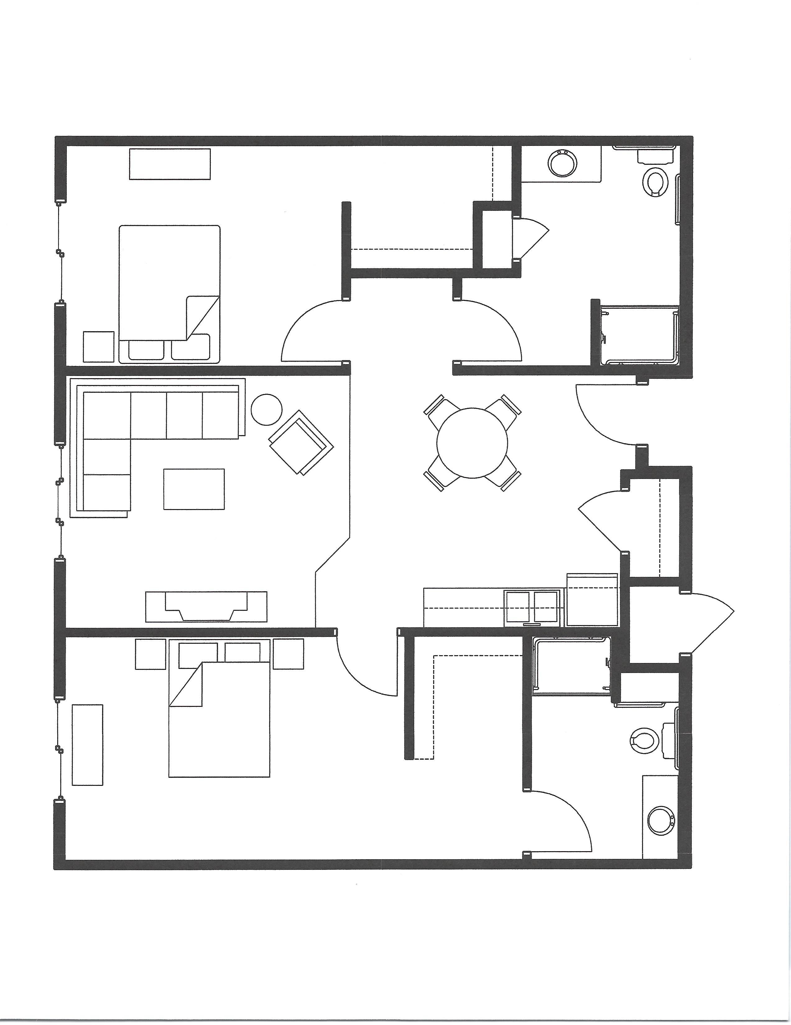 al two bedroom