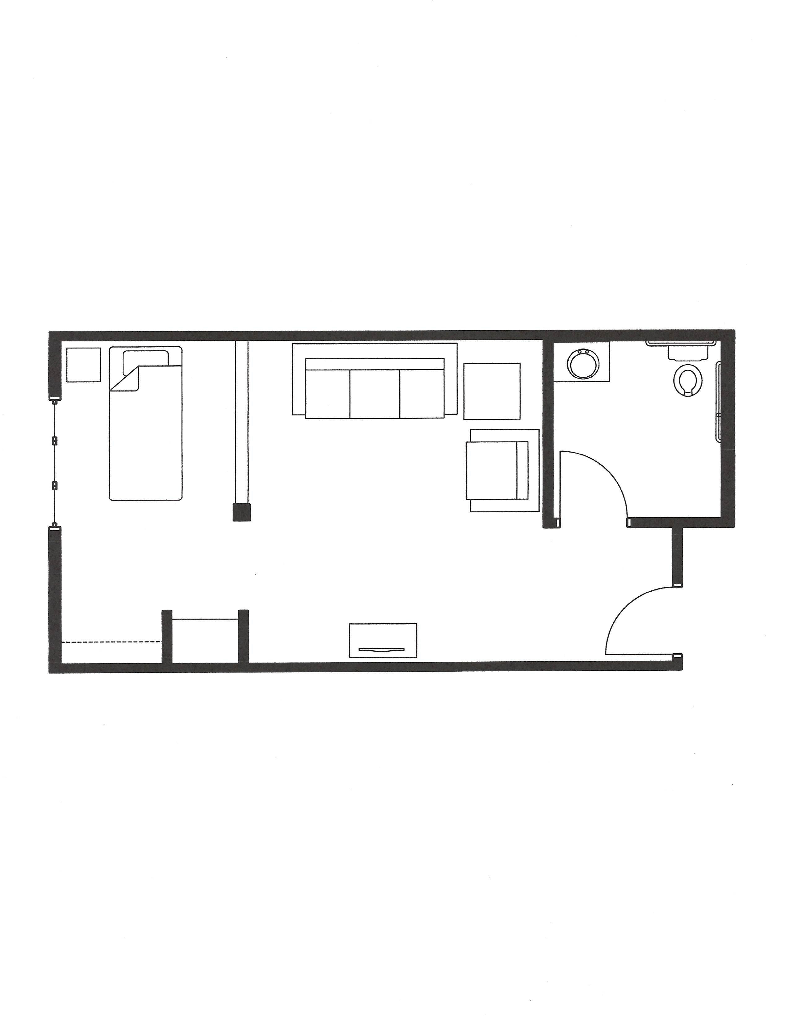 mc one bed unit-1