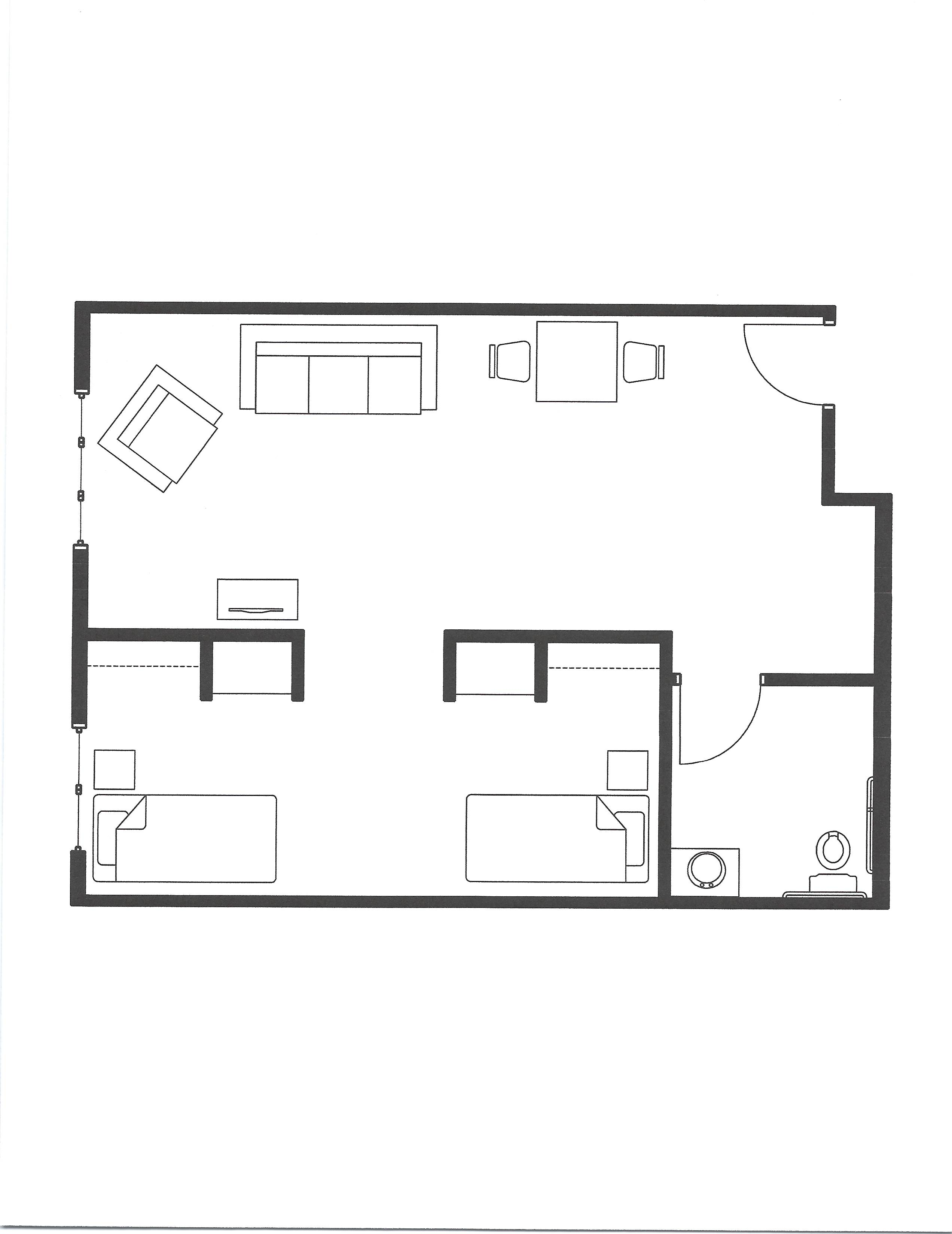 mc two bed unit
